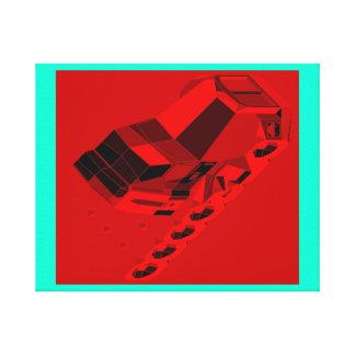 Warlong-Haul Space Truckin Conventional Cabs Canvas Print