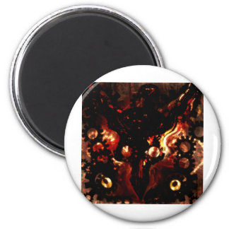 warlords 6 cm round magnet