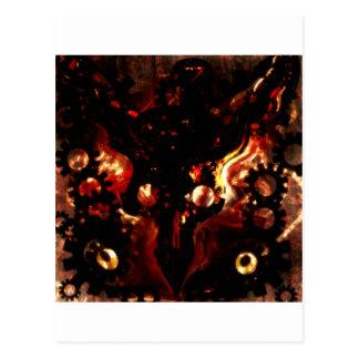warlords postcard