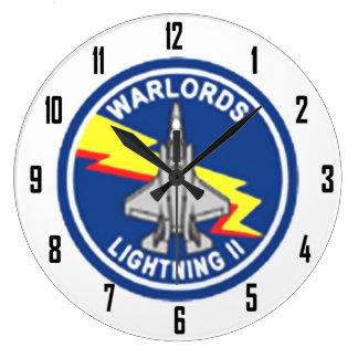 WARLORDS WALLCLOCK