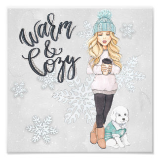 Warm and Cozy Photo Print