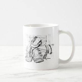warm boots classic white coffee mug