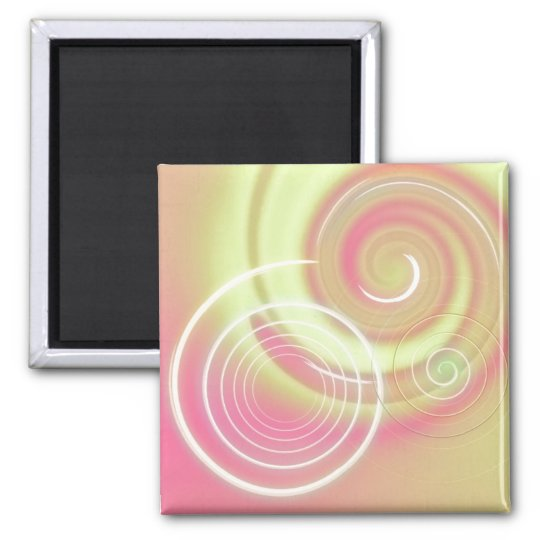 Warm Circles ~ customisable magnet