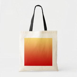 Warm colors plain design bag