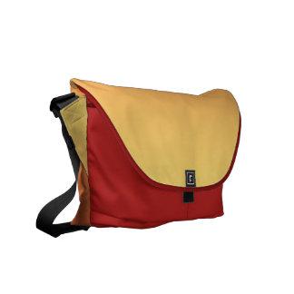 Warm colors plain design commuter bags