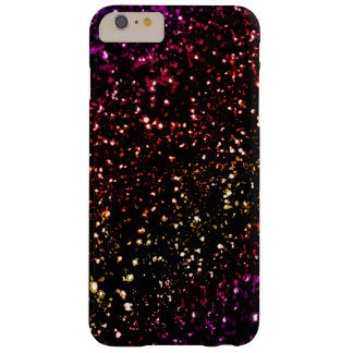 Warm Dark Rainbow Glitter  iPhone 6 Plus Case