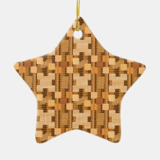 WARM energy Jewel Art Graphic Pattern GIFTS Christmas Ornament