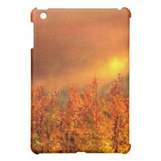 Warm Fall Day Painting iPad Mini Folio Case iPad Mini Covers