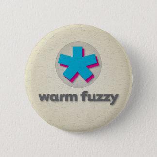Warm Fuzzy 6 Cm Round Badge