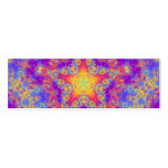 Warm Glow Star Bright Colour Swirl Kaleidoscope Pack Of Skinny Business Cards
