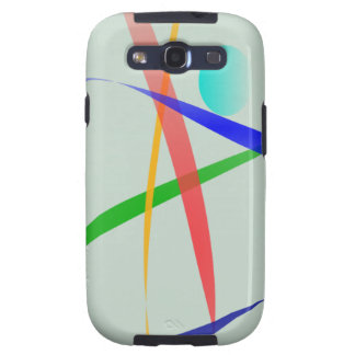 Warm Gray Simple Abstract Design Galaxy S3 Cases