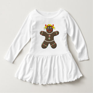 Warm Happy Holiday Gingerbread Girl Tee Shirts