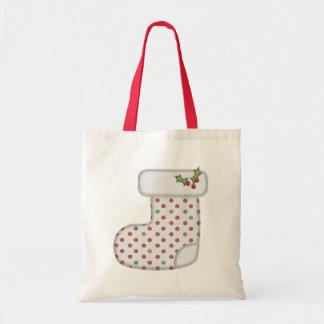 Warm Holiday Stocking Gift Bag