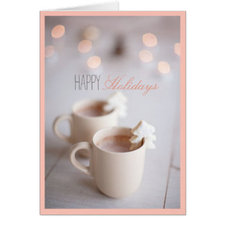 Warm Holiday Wishes Card
