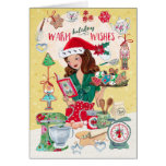 Warm Holiday Wishes   Cookies   Greetings Cards
