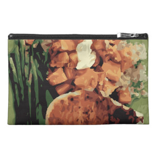 Warm Homemade Potatoes and Green Beans Travel Accessory Bag