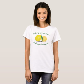 Warm Lemon Water Detox Cleanse T-Shirt