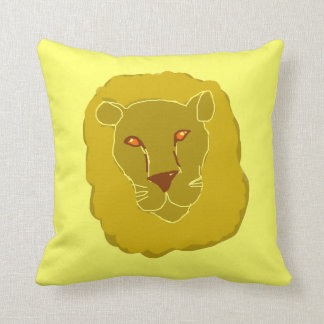 Warm Lion Pillow