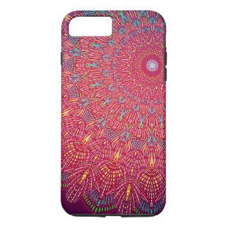 Warm mandala iPhone case