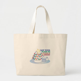 Warm Merry Canvas Bags
