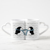 Warm Penguins Lovers Mug