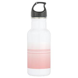 Warm Pink. Simple Elegant Design 532 Ml Water Bottle