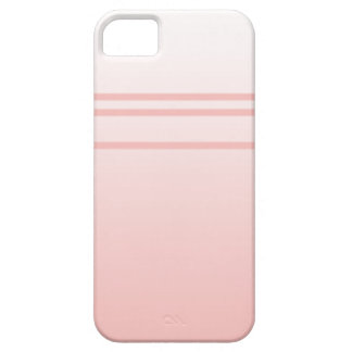 Warm Pink. Simple Elegant Design iPhone 5 Cover