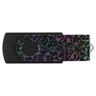 Warm Rainbow Musical Tapestry USB Flash Drive