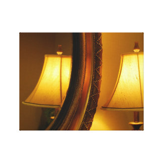 Warm Reflections Stretched Canvas Prints