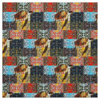 Warm Sea Turtle Pattern Fabric