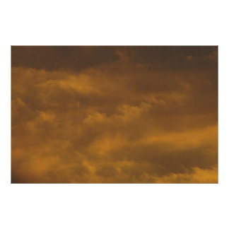 Warm Sky Poster