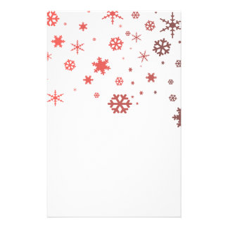 Warm Snow Customised Stationery