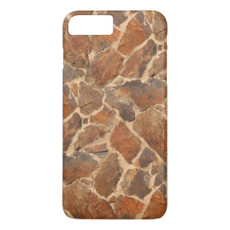 Warm Stonewall Pattern Golden iPhone 7 Plus Case