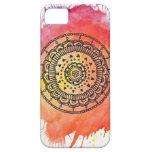 Warm Sun Mandala iPhone 5/5s Case By Megaflora