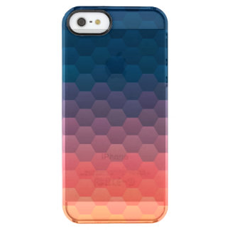 Warm Sunset Clear iPhone SE/5/5s Case