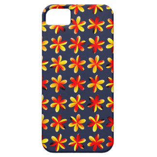 Warm Sunset Flowers iPhone 5 Case