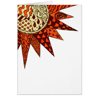 Warm Sunshine - birthday card