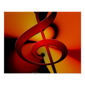 Warm Tone Music Poster