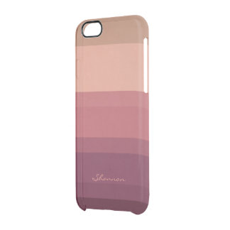 Warm Tones Subtle & Chic Striped iPhone 6 case