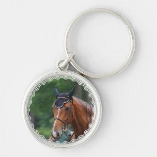 Warmblood Horse  Keychain