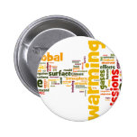warming two pinback buttons