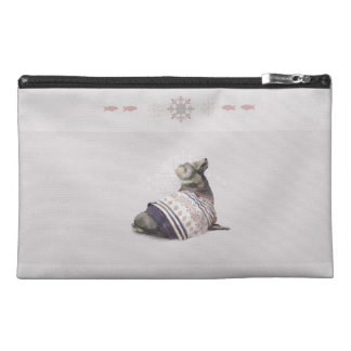 'Warmly Clothed Seal' Travel Accessory Bag