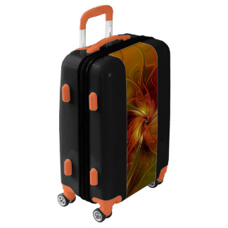 Warmth, Abstract Fractal Art Luggage