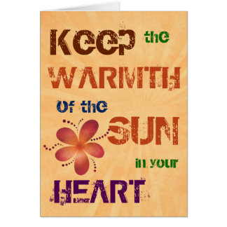Warmth of the Sun All Occasion Card