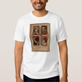 Warner Oland 1920 silent movie exhibitor ad T-shirt