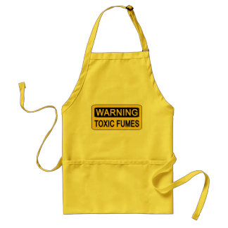 Warning apron - choose style & color