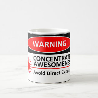 Warning: Awesome Mug