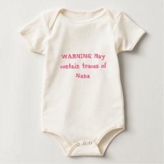 WARNING babywear Baby Bodysuit