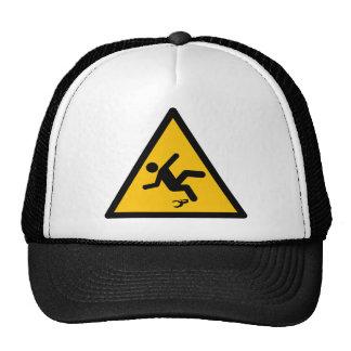 Warning Banana Peel Slippery Trucker Hat