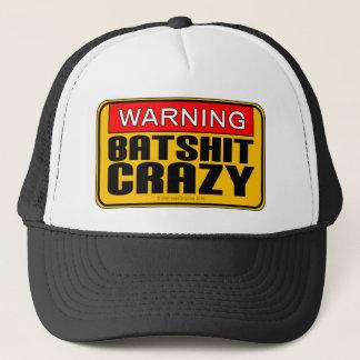 WARNING: Batshit Crazy Trucker Hat